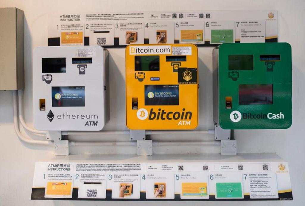 Worldwide crypto ATM